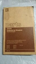 Genuine Caterpillar parts book manual 3208 Industrial Engine Turbocharged