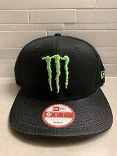 Monster Energy New Era 9Fifty Athlete Snapback Hat Cap RARE