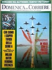 La Domenica del Corriere 3 Aprile 1973 Vitti Bramieri Hitler Berruti Magia Fumo