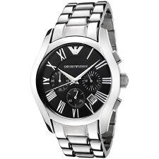 Orologio Emporio Armani da uomo AR0673 Acciaio Cronografo Quadrante nero