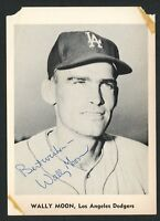 Wally Moon (d. 2018) signed autograph auto 1961 Jay Publishing 5x7 B&W Photo