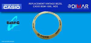 Replacement Vintage Original Bezel Casio BGM-100L. NOS