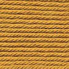 Sirdar Knit & Crochet 100 Cotton Yarn 2 X 100g Gold