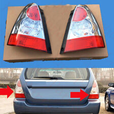 2xFor Subaru Forester 2006-2007 Rear Left+Right Taillight Lamp Cover Replacement
