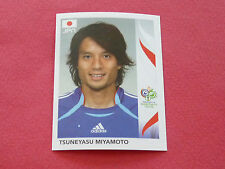 439 TSUNEYASU MIYAMOTO JAPAN PANINI FOOTBALL GERMANY 2006 WM FIFA WORLD