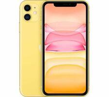 "APPLE iPhone 11 128GB 6.1"" HD Liquid Retiа 12MP Mobile Smart Phone Yellow Currys"