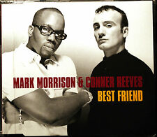 """MARK MORRISON & CONNER REEVES """"Best Friend [CD #2]"""" 4 Track Maxi-CD 1999"""
