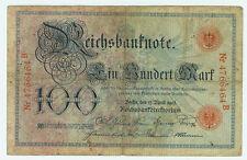 Banknote Deutsches Reich 100 Mark 1903 Ro.20