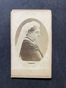 Victorian Carte De Visite CDV: Royalty: Queen Victoria
