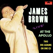 LIVE AT THE APOLLO CD BY BROWN, JAMES NEW SEALED