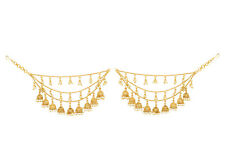 Traditional Wedding Jewelry Gold Plated Pearl Hair Accessories Women Jewelry