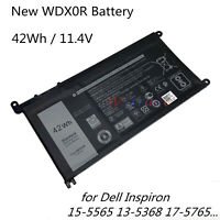 New Battery WDX0R For Dell Inspiron 15 5565 5567 5568 5578 13 5368 5378 5379
