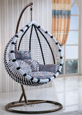 New Large Outdoor Hanging Swinging Egg/Pod Chair 081#