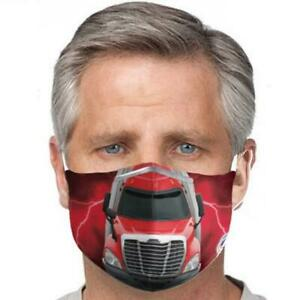 5 Layer Freightliner®Trucker Washable - Safety Mouth Cover Mask MADE IN USA