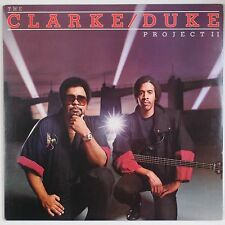 STANLEY CLARKE, GEORGE DUKE: Project II Epic US Funk Jazz VINYL LP VG++