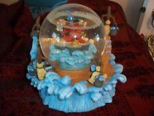 DISNEY FANTASIA MICKEY MOUSE WATER SNOW GLOBE SORCERER'S APPRENTICE MUSIC BOX