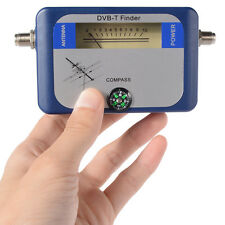 Satellite Finder Signal Strength Meter 95DTW DVB-T Dish Alignment COMPASS 2016