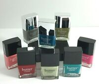 Nail Polish Bottles Most Full Lot Of 8 Butter London Nail Lacquer Made In USA!