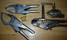 Bessey GRZ10 Clamp Germany + Facom 501A + 505A Locking Pliers + Earth Clamp