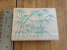 """""""RETIRED"""" RUBBER STAMP * BAMBOO * ALL NIGHT MEDIA * 3651"""