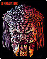 Blu Ray • The Predator Zavvi Exclusive Collector's Edition Steelbook NEW ENGLISH