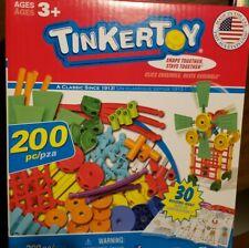 Tinkertoy 30 Model Super Building Set – 200 Pieces – For Ages 3+ Preschool Ed.