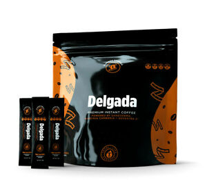 New DELGADA Slimming Instant COFFEE - 28 Sachets/1 Bag - Total Life Changes TLC