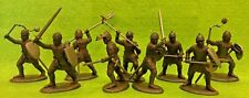 English Men at Arms & Armati Medieval Knights 1/32 54MM Expeditionary Force Toy