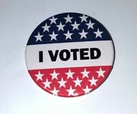 """I VOTED 2.25"""" button pin"""