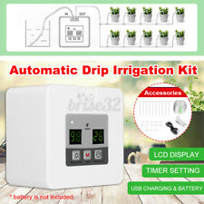 Drip Irrigation Kit Automatic Watering System Timed Water Indoor Garden Plant