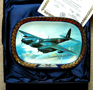 "DAVENPORT STYLE BRADFORD EXCHANGE ""THE MOSQUITO"" PLATE  (BOXED+CERT)"