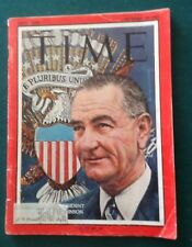 Time Magazine Nov 29, 1963  Dean Rusk Vol.82NO.22