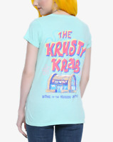 SpongeBob SquarePants THE KRUSTY KRAB Girls Women's T-Shirt NEW Licensed