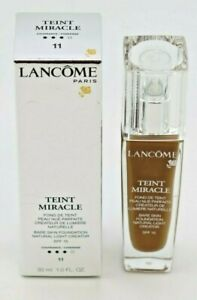 Lancome Teint Miracle Bare Skin Foundation Natural Light Creator 11 Muscade