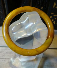 Butterscotch Amber Bakelite Bangle An Art Deco Tested Carved