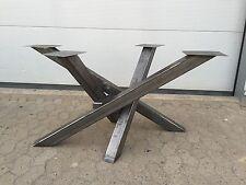 Design Tischgestell Gestell Esstisch Tischfuß Industriedesign Holztisch Stahl Lo