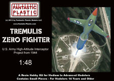 Tremulis Zero-Fighter - U.S. Wwii Rocket-Powered Interceptor Project 1:48 Resin