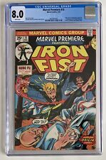 (1974) MARVEL PREMIERE #15 CGC 8.0 WP! 1st Appearance IRON FIST!