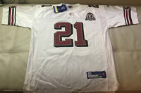 NWT Authentic Sewn Reebok Frank Gore SF 49ers 60th Anniversary Jersey Size 52