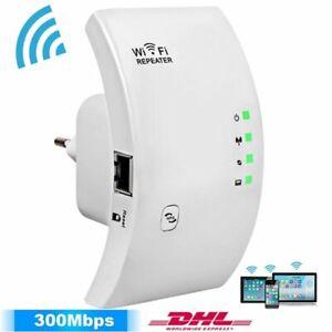 300Mbps WLAN Repeater Verstärker Wireless Wifi Signal Wireless Router Extender