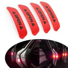 4X Car Door Open Anti-collision Stickers Reflective Sticker Safety Warning Decal