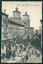 Ferrara da Piazza Commercio Tram cartolina QT4648