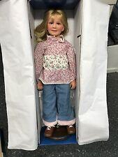 Künstlerpuppe Vinyl Puppe 80 cm. Top Zustand