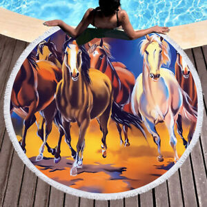 Brand new European and American style horse Benz pattern beach furniture carpet