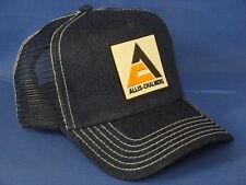 Allis Chalmers Tractor Hat - Denim Mesh - Triangle Logo
