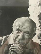 Pablo Picasso, Youssouf Karsh, fotografia originale vintage 1954