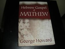 """""""Hebrew Gospel of Matthew"""" J-2 NWT Study Edition JEHOVAH NT Watchtower Research"""