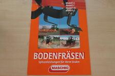158940) Maschio Bodenfräse Prospekt 10/2003