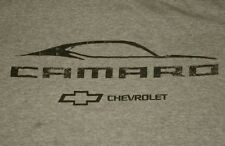 T-SHIRT size adult MEDIUM - CHEVY CAMERO Z28 Z 28 CHEVROLET MUSCLE CAR gray RARE