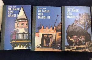 Im Lande des Mahdi I, II,III May, Karl Set Of Three Books Written in German